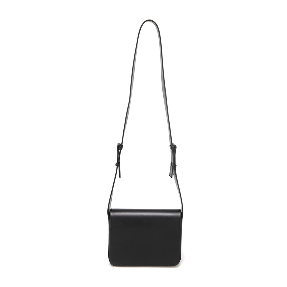 WIDE STRAP BAG - BLACK